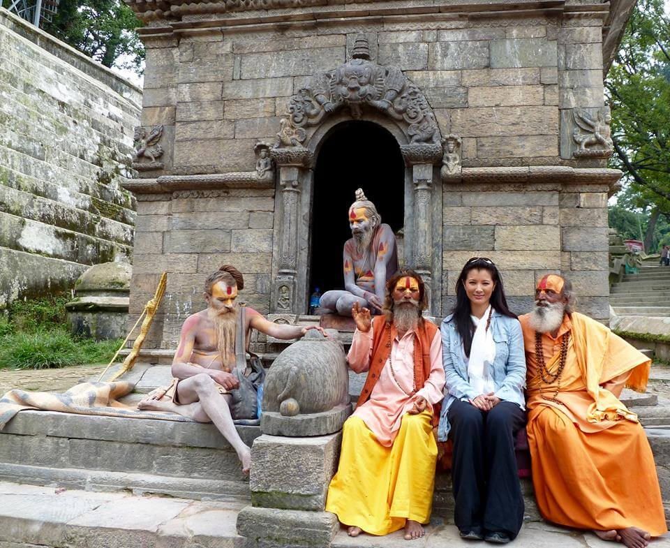 Kelly Hu In Nepal
