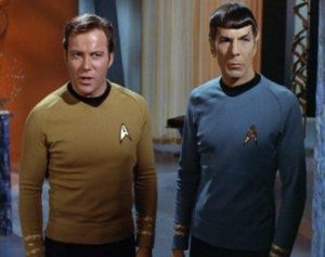william-shatner with spock