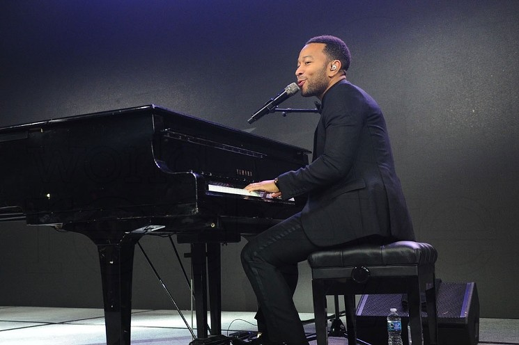 John Legend piano