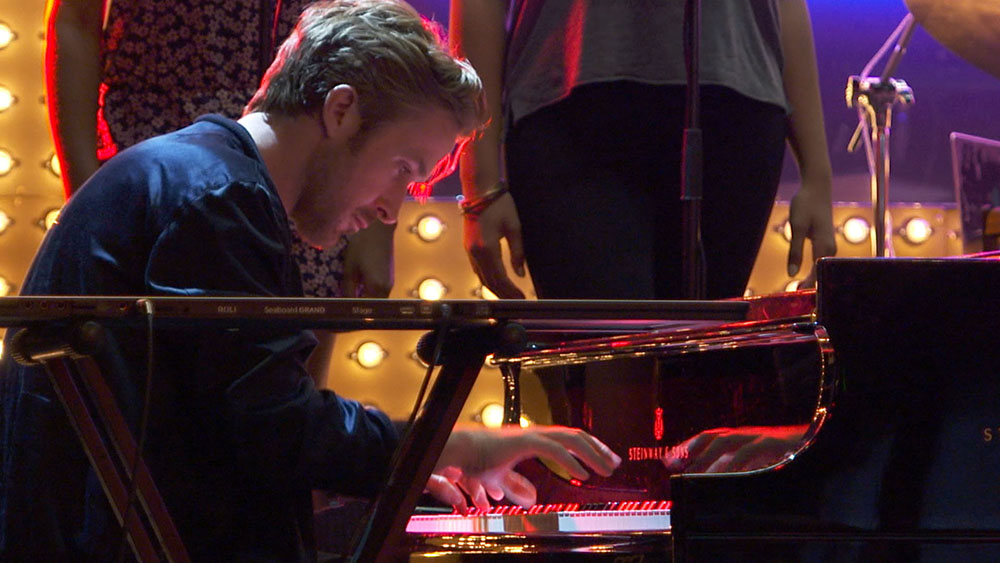 Ryan Gosling Piano