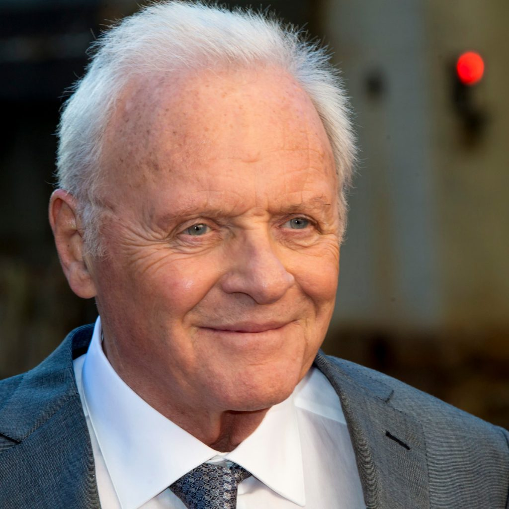 Anthony Hopkins on piano