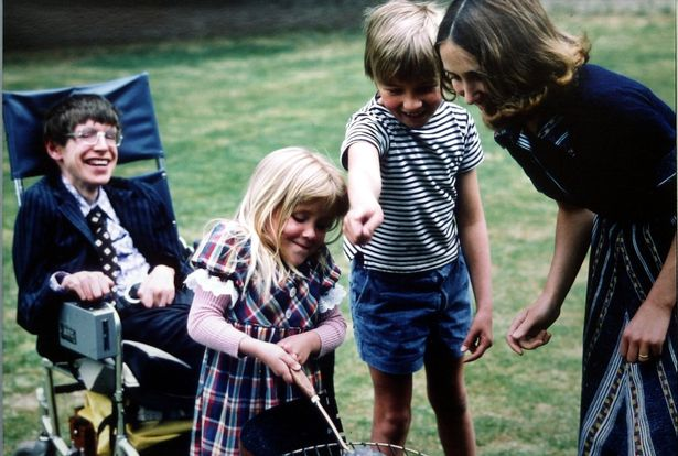 Lucy Hawking family