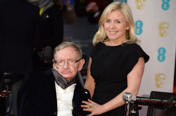Lucy Hawking and Stephen