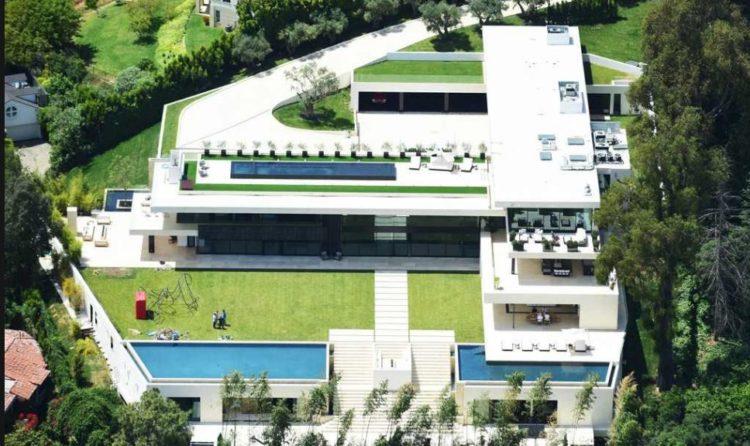 Beyonce House in Bel Air