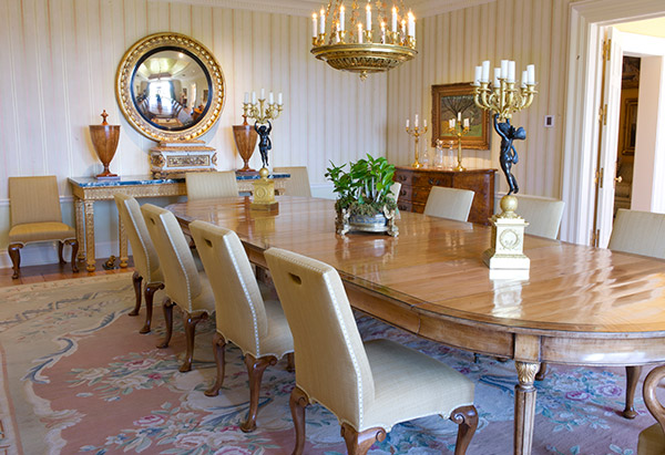 Oprah Winfrey House Dining
