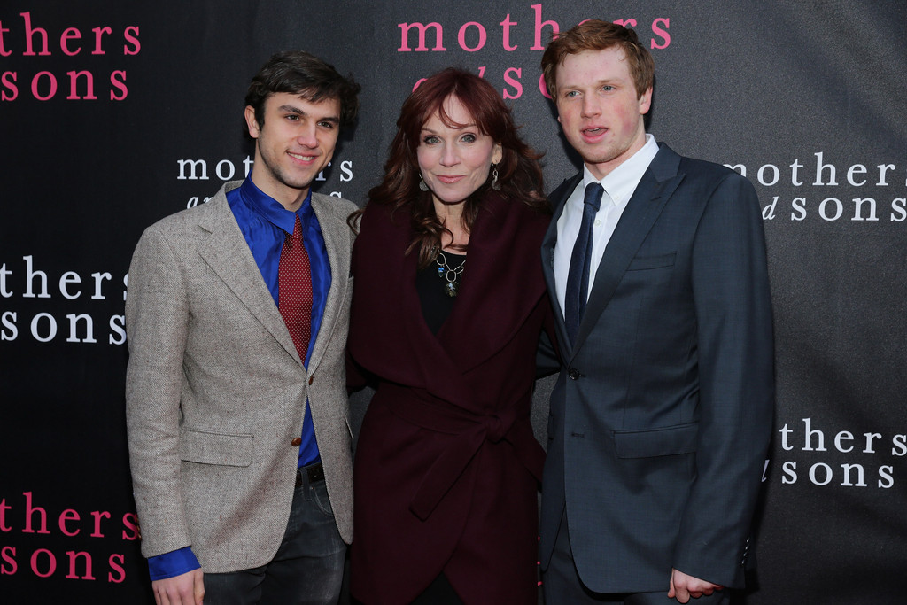 Nicholas Morgan Lieberman with mother Marilu