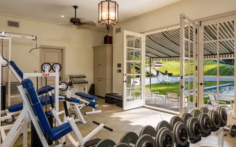 Angelina Jolie House Gym