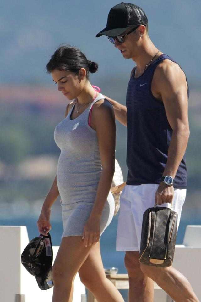 Georgina Rodriguez pregnant with Alana