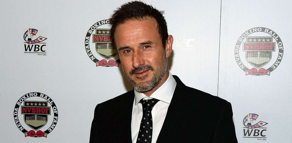 christina McLarty's husbanddavid arquette
