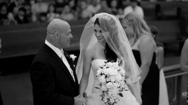 Kurt angle and Giovanna yannoti wedding