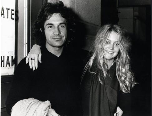 Hudson with Goldie Hawn