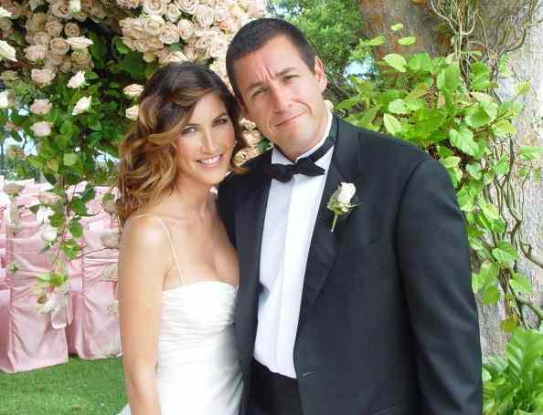 Jackie Sandler wedding with Adam Sandler