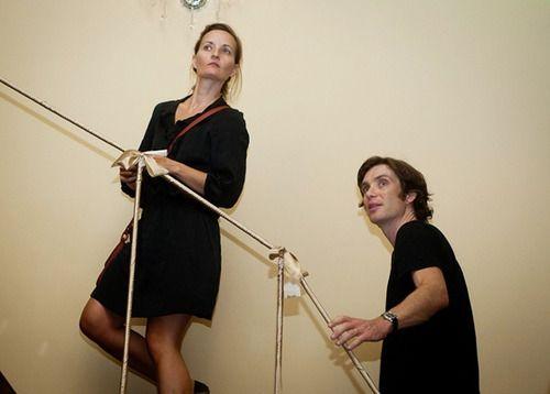 Yvonne McGuinness with husband Cillian Murphy