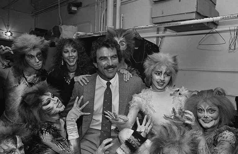 Jillie Joan Mack in the musical Cats where she met Tom Selleck for the first time