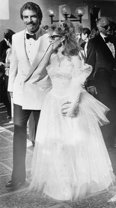 Jillie Mack gets married to Tom Selleck in an intimate ceremony