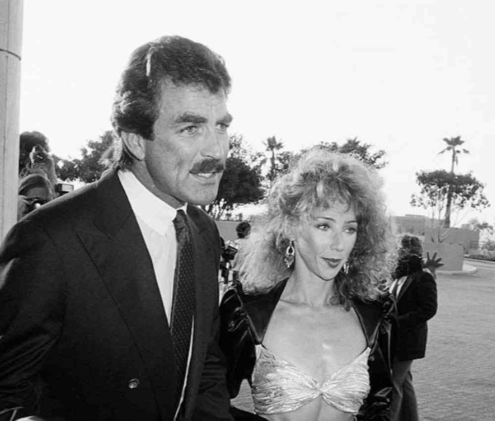 Jillie Mack with husband Tom Selleck