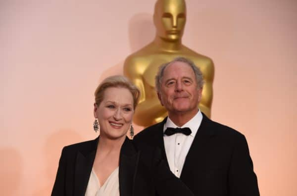 Don Gummer with wife Meryl Streep